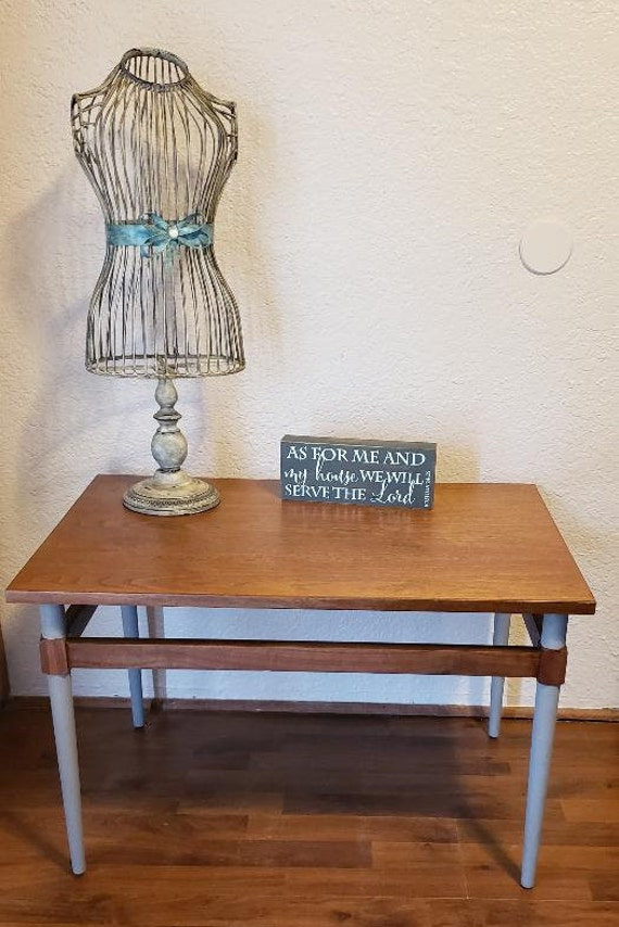 Distressed Coffee Table End Table Furniture Antique Etsy