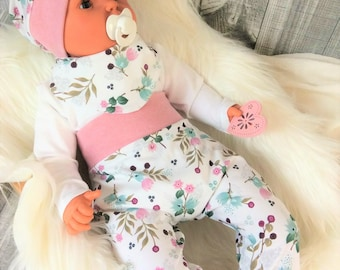 Atelier Miamia Pumphose individually or in Set Baby child designer limited Elephant pink