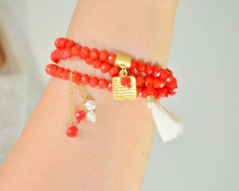 Red Islamic Bangle, Aytul Kursi Jewelry, Surah Holy Bracelet, Wav Letter  Bijouterie, Muslim Fashion, Arabic Gold Bangle, New Divoud Jewelry