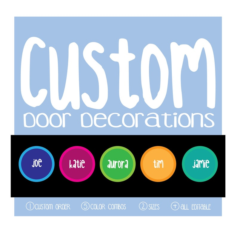 picture about Printable Door Decorations titled Customized Acquire / Doorway Decoration / Printable / Doorway Dec / RA / Instructor / Clroom Decoration / Status Tags