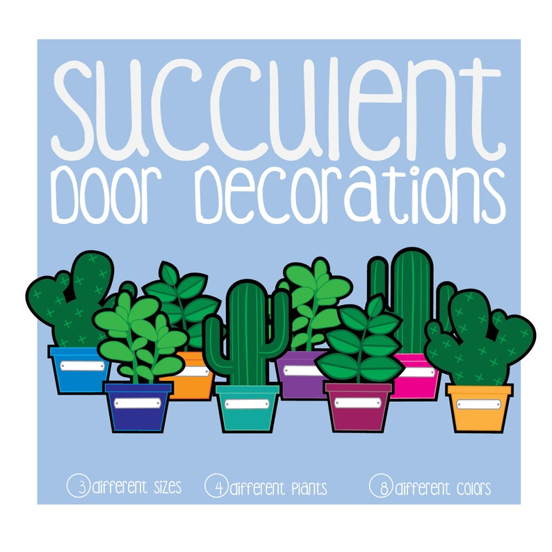 This is an image of Revered Printable Door Decs
