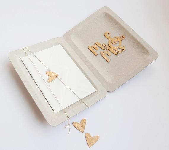 Hochzeit Geldgeschenk Box Mr Mrs Etsy