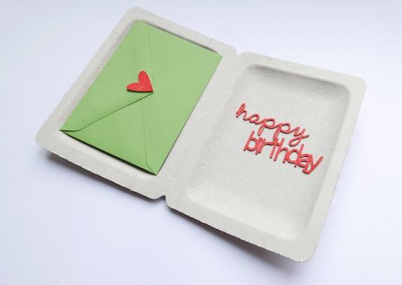 Geldgeschenk Geburtstag Box Happy Birthday Etsy