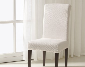 Wondrous Dining Chair Slipcover Etsy Lamtechconsult Wood Chair Design Ideas Lamtechconsultcom