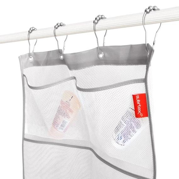 Subrtex Cornwall Mesh Bath Shower Caddy Bathroom Mesh Bag Gray Etsy