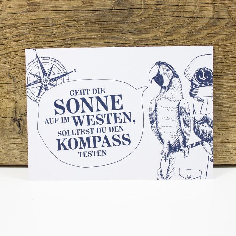Postcard K\u00e4ptns Wisdom II