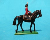 West Britain Metal Lead Toy Soldier on Horse 1988 England