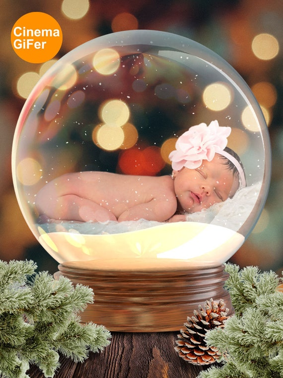 christmas glass ball video digital background cinemagraph etsy etsy