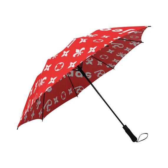 Saints blanc rouge diamant motifs sur fait sur motifs mesure - parapluie 20cb1d