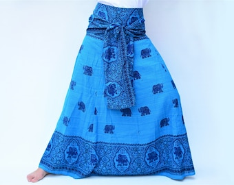0762057cef Maxi Skirt Boho Hippie Gypsy Skirt handmade from 100% cotton