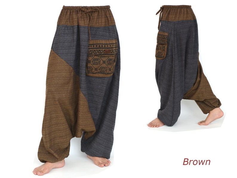 Harem pants for women and men Gypsy Pants Boho Hippie Aladdin Pants in 5 colors