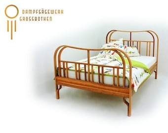 """carpentry-made bentwood bed """"Merle"""""""
