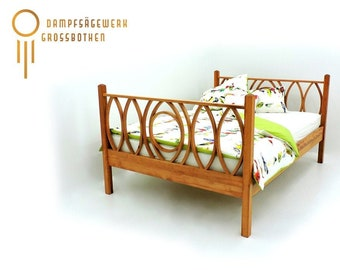 """carpentry-made bentwood bed """"Molly"""""""