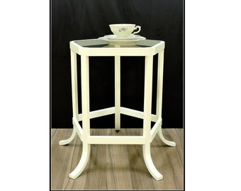 "tischlerei-made bentwood side table ""Ferdinand"""