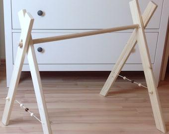 Kletterbogen Holz Gebraucht : Holz spielbogen etsy