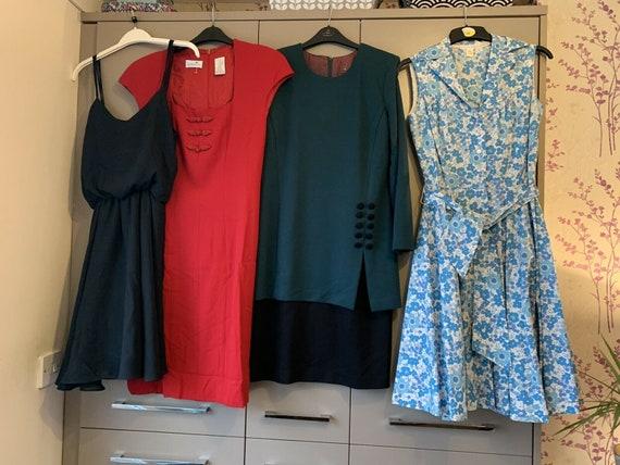 Vintage Dresses Job Lot 1950s Dress 1980s Mix Unio