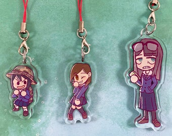 Keep Your Hands Off Eizouken! | Asakusa | Mizusaki | Kanamori | Acrylic Charms/Keychains