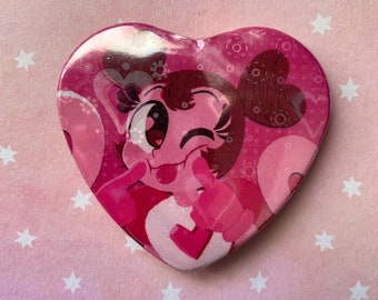 Spinel | Steven Universe | Holographic Heart Button