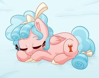 My Little Pony | Cozy Glow | Mini Body Pillowcase Dakimakura