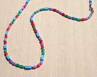 Turquoise Candy Necklace