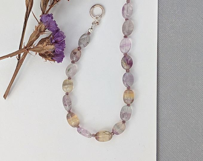 Fluorite Gemstone Bracelet
