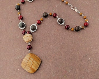 Jasper Worship Necklace