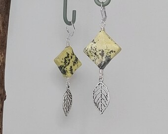 Stone on the Wing Earrings