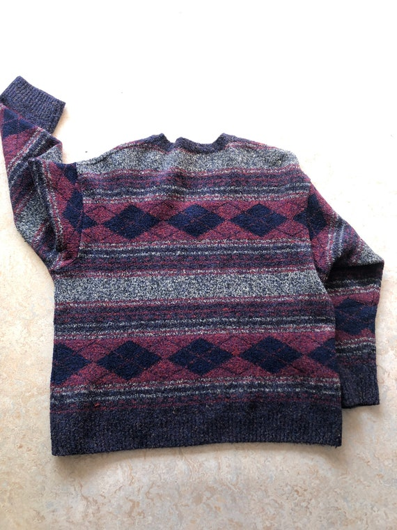 Vintage sweater ugly sweater