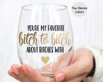Bitchgiving Wine Tumbler