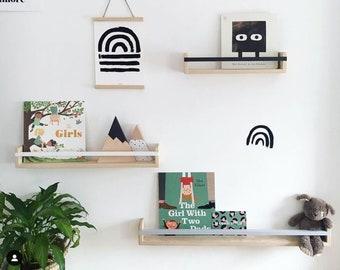 pretty nice 9a8a5 420bb Kids wall shelf   Etsy