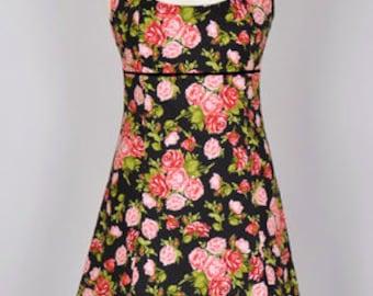"Marie ""Halter Dress in floral patterns"