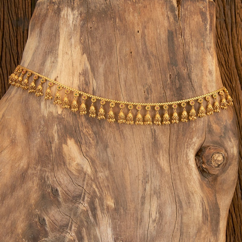 Indian Belly Chain Kamarbandh Vaddanam Kamarpatta Indian Jewelry Indian waist chain Jewelry Belt Sash South Jewelry  Ethnic Jewelry