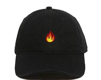41eb00738 Flames hat | Etsy