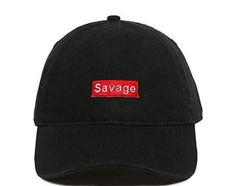 Printed Cap Savage Mode 6 Panel