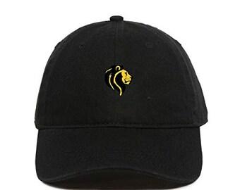 94e741149af0f DSGN By DNA Lion Baseball Cap Embroidered Cotton Adjustable Dad Hat