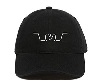 Custom Soft Baseball Cap Poop Face C Embroidery Dad Hats for Men /& Women
