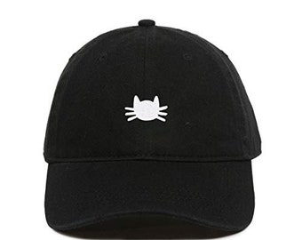 Custom Trucker Hat Richardson Black Panther Face Embroidery Animal Name Cotton