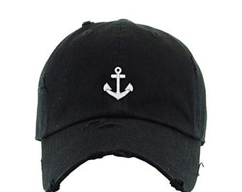 Camp Embroidered Lake Captain Emblem Sailing House Gift Dad hat Boating Fathers Day Ocean Symbol