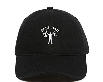 Cute Unicorn Burguer Children Baseball Cap Hats Black