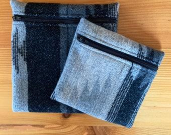 Upcyled Reusable Bag - GRAY DAYS
