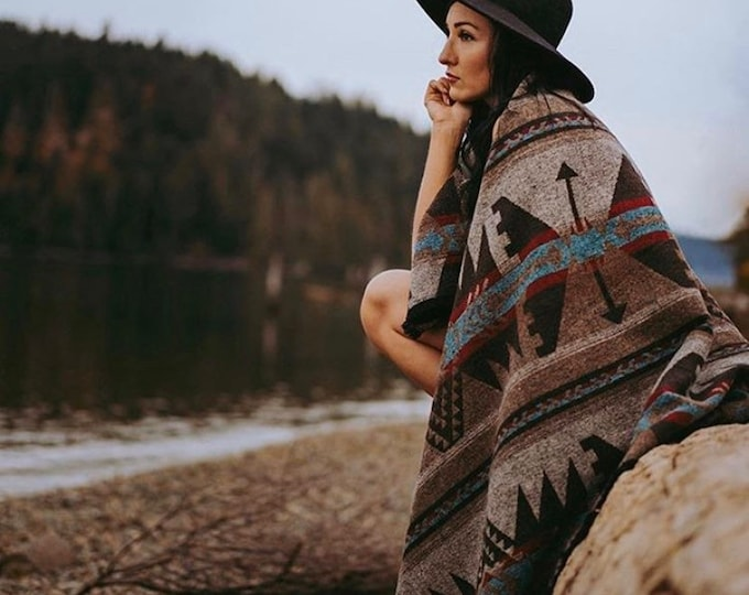 Tofino Beach Blanket - RUSTIC