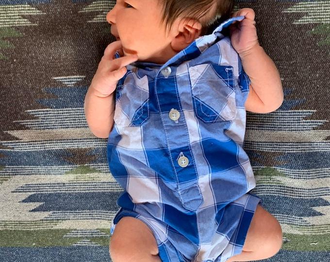Baby Blanket - Sand and Sea- Navajo - Newborn - Baby - Car seat blanket - Stroller Blanket - Aztec