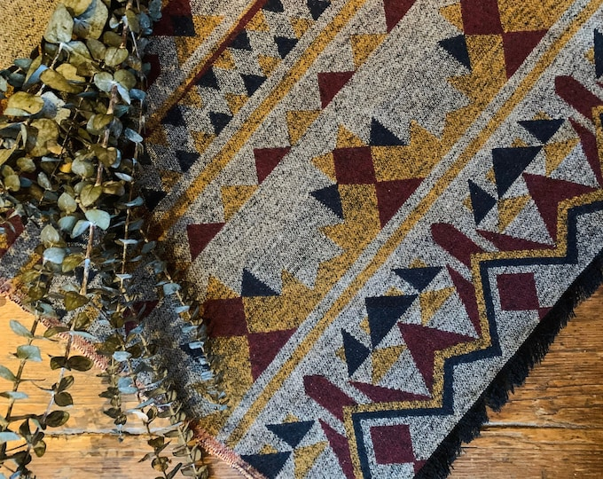 Tofino Beach Blanket - RETRO - Aztec - Navajo - Camping Blanket - Yoga Blanket - Throw Blanket - Boho Blanket