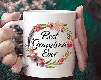 Best Grandma Ever Coffee Mug Gift For Grandmother Mothers Day New 90 Year Old Woman 90th Birthday Ideas