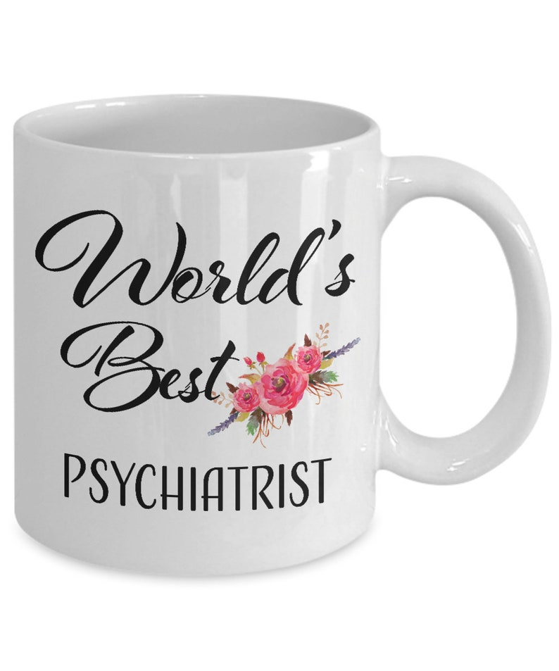Thank You Gift for Psychiatrist Mug Retirement Coffee Cup World's Best  Ideas for Men Women Coworker Appreciation Christmas Retired 2018 2019