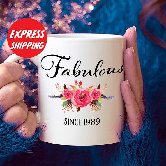 30e Verjaardag Ideeën 30 Jarige Vrouw 30 Jaar Oude Cadeaus Voor Vrouwen 30ste Verjaardagsgiften Voor Haar Fantastische Sinds 1989 Mok 30 Yr Oude