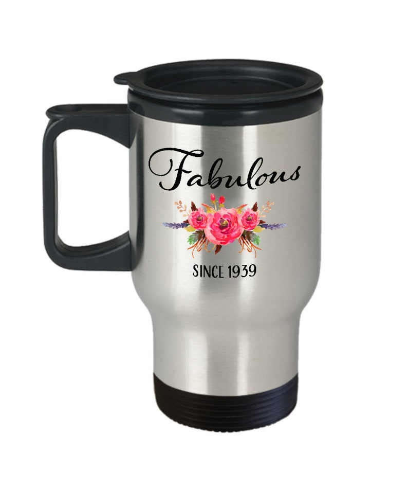 80th Birthday Gifts For Women Fabulous Since 1939 Gift