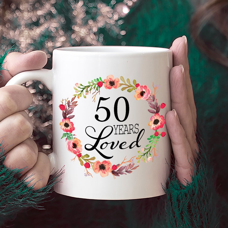 50th Birthday Gifts For Women Gift 50 Year Old Female
