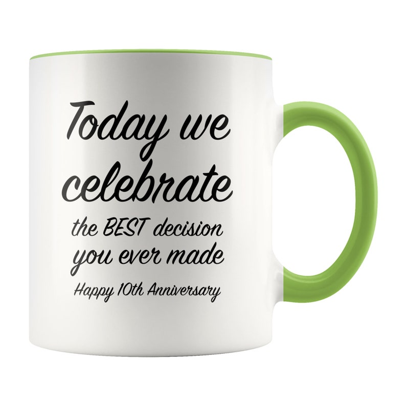10th Anniversary Gift Ideas For Him 10 Year Wedding