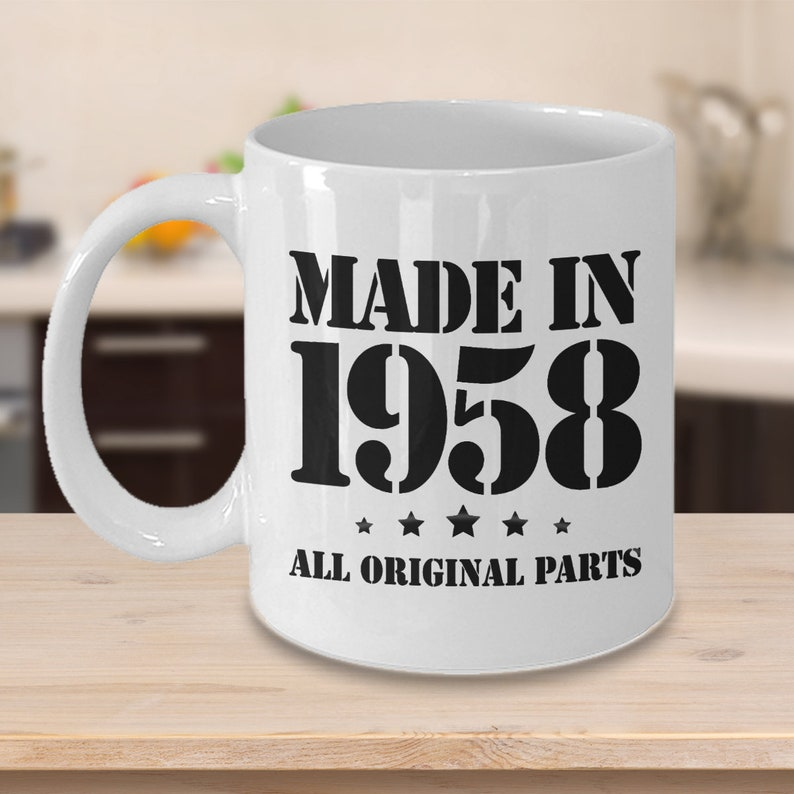 61st Birthday Gifts For Him Made In 1958 Happy 61 Year Old